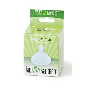 Klean Kanteen tétine - Fast, 2er Pack transparent